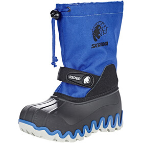 High Colorado Snowy Winterboots Kids schwarz-blau